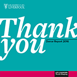 Thank You, donor report 2016